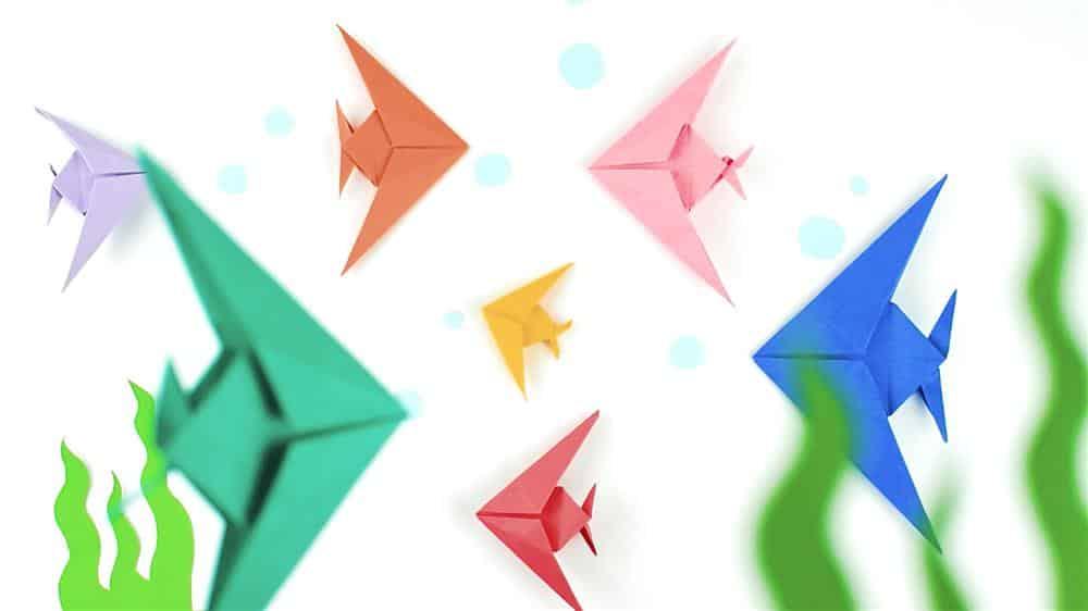 You are currently viewing Dobradura de Peixe: origami passo a passo simples