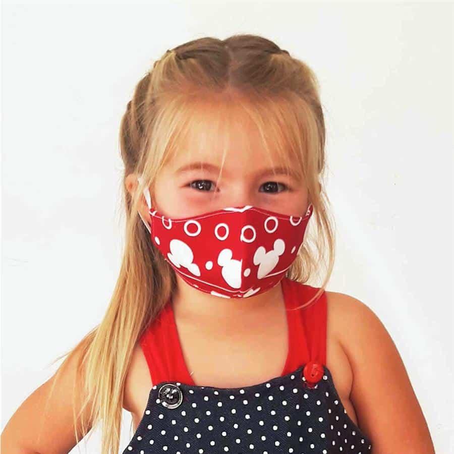 mascara de proteção infantil