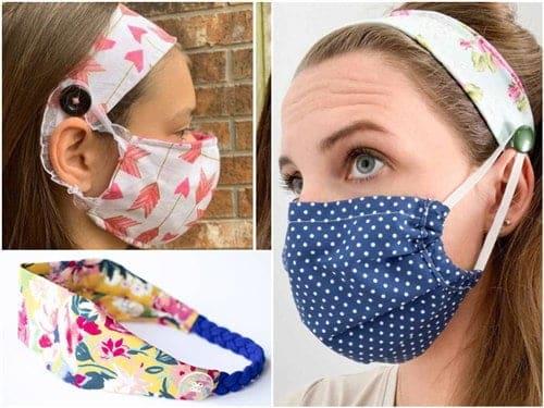 Read more about the article Tiara com máscara passo a passo com molde