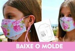 modelo de mascara 3d