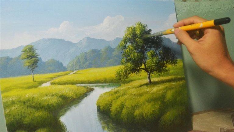 Read more about the article Pintura em Tela: como desenhar uma paisagem passo a passo