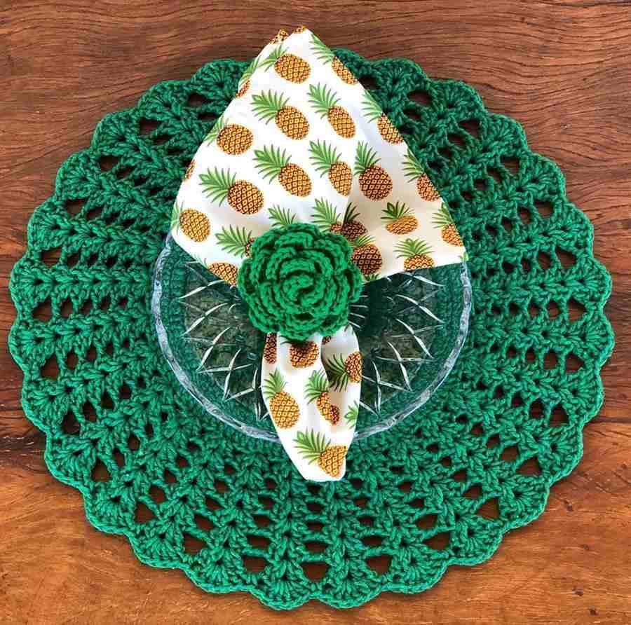 kit verde para decorar mesa posta