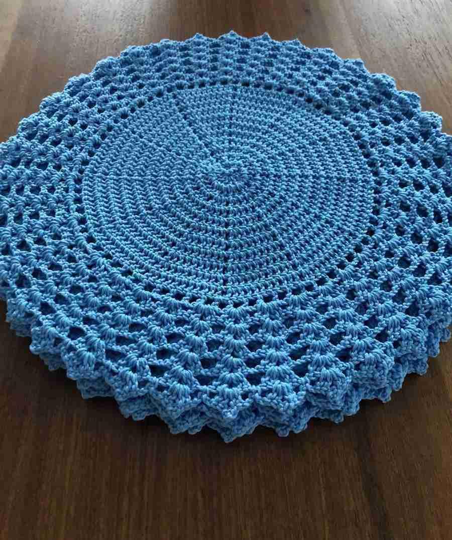 peça azul grande