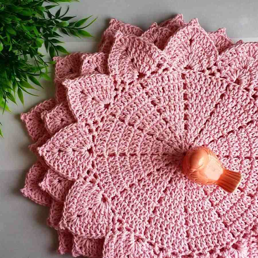 sousplat rosa simples