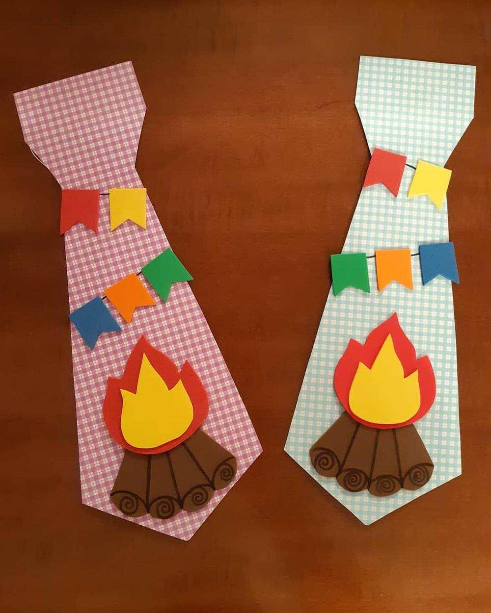 gravata com fogueira de eva
