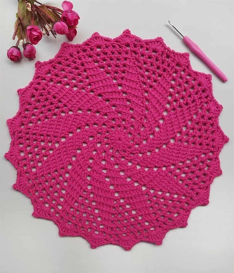 modelo espiral rosa