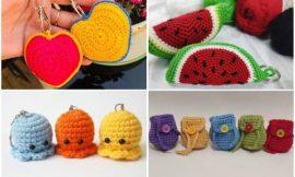 Chaveiro de Crochê: +65 ideias para lembrancinhas e passo a passo