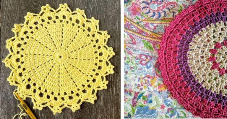 Read more about the article Sousplat de Crochê: + 58 modelos e passo a passo completo