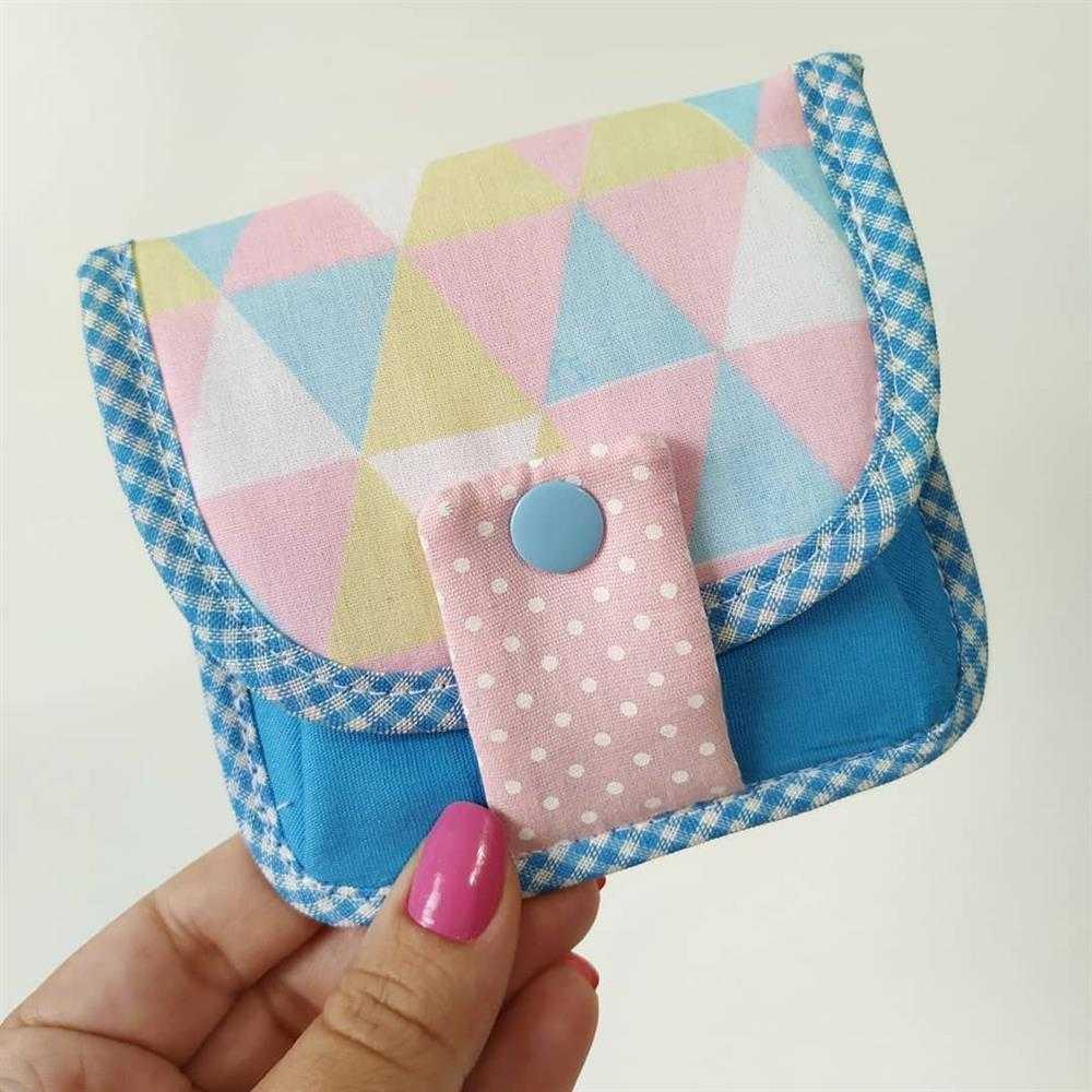 porta absorvente tipo carteira