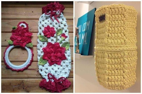 Read more about the article Puxa saco de crochê: passo a passo e 55 modelos incríveis