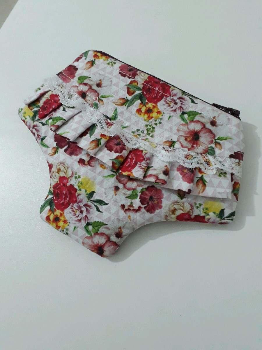 Porta absorvente calcinha