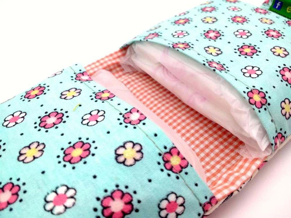 porta absorvente de tecido