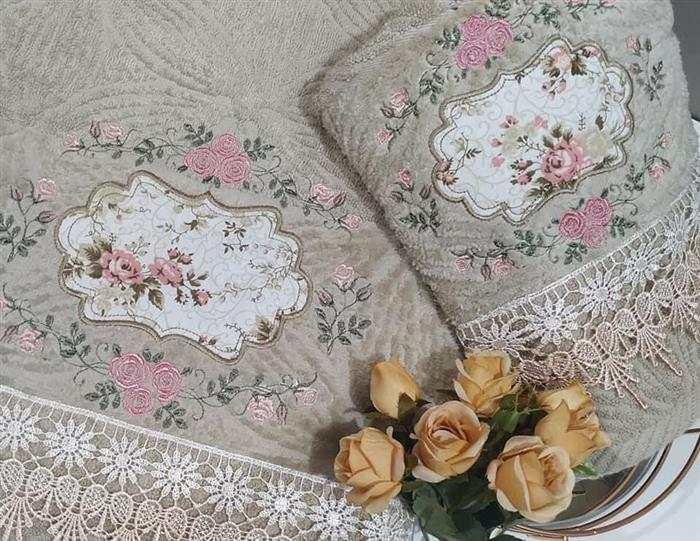 kit toalhas bordadas