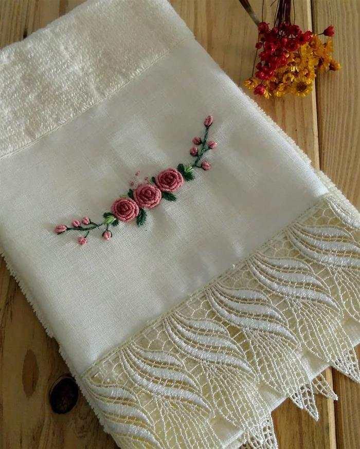 toalhas bordadas luxo