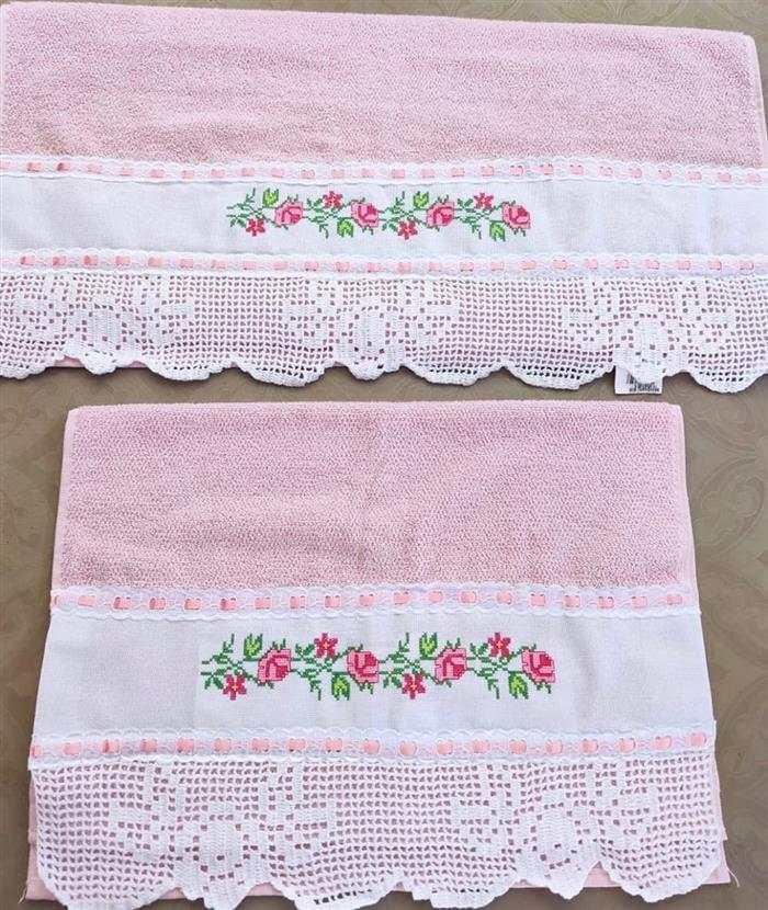 toalhas bordadasfemininas