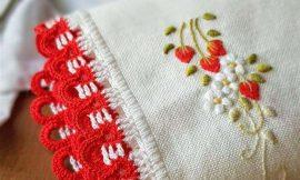 Amostra de bico de crochê: +77 ideias simples e diferentes