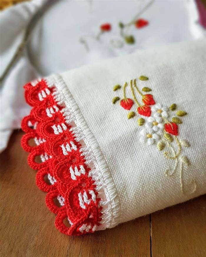 Read more about the article Amostra de bico de crochê: +77 ideias simples e diferentes