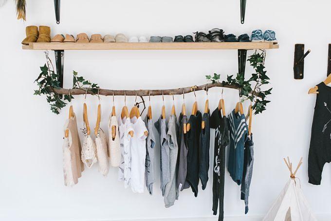 arara de roupas desmontável