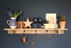 decoração com madeira de palete
