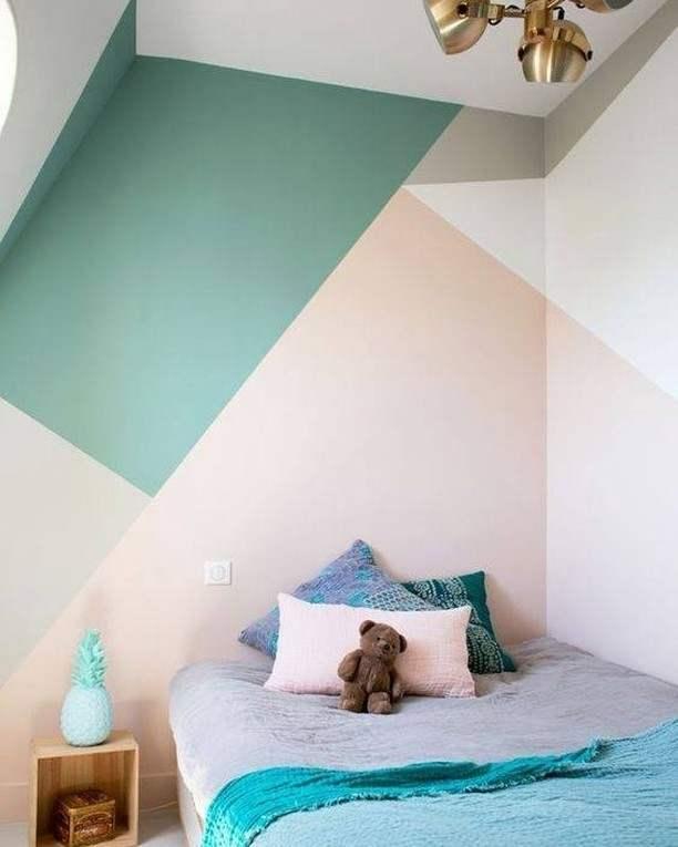 parede com cores claras