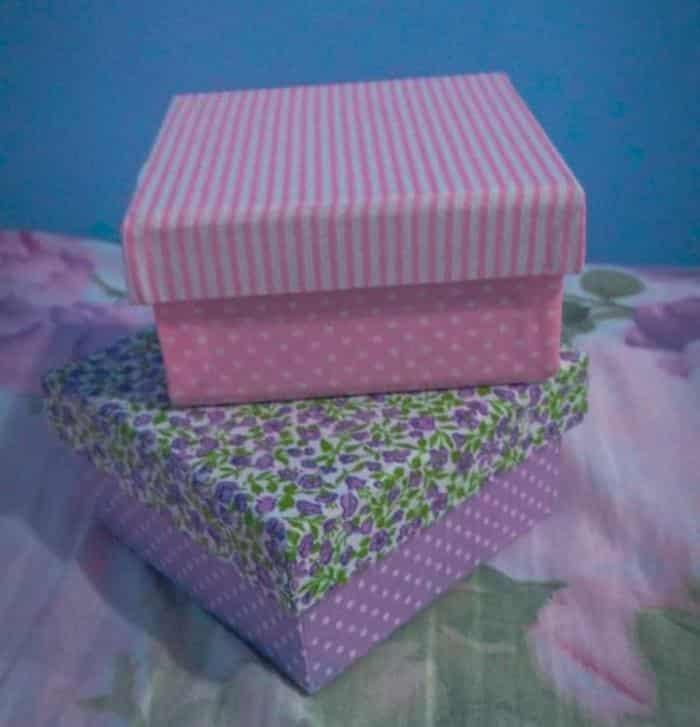 caixa de presente decorada