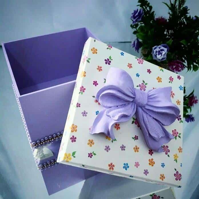 caixa de presente luxo
