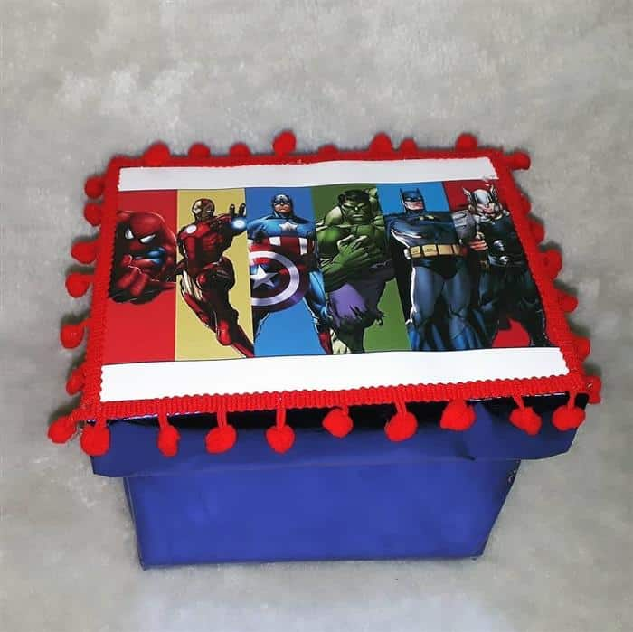 caixa de presentes festa infantil