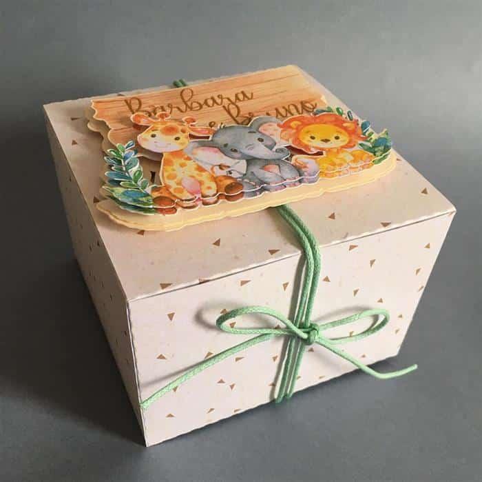 caixa de presentes personalizadas