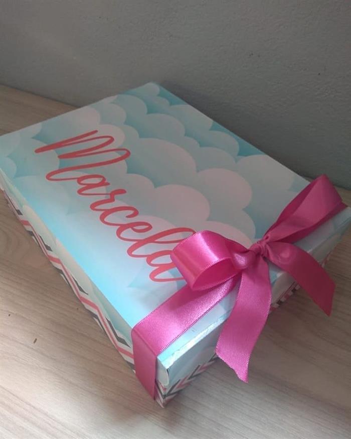 caixa para presentes de festa infantil