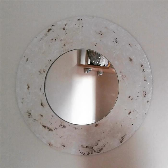 espelho com moldura para hall de entrada