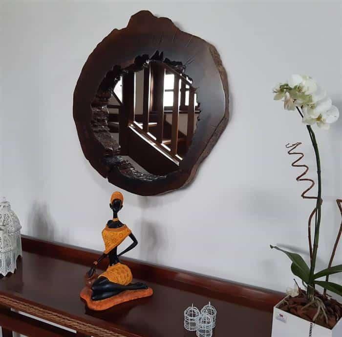 moldura de espelho para parede