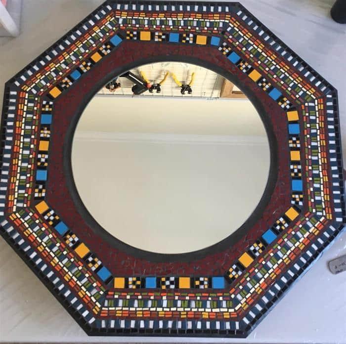 moldura espelho para lavabo