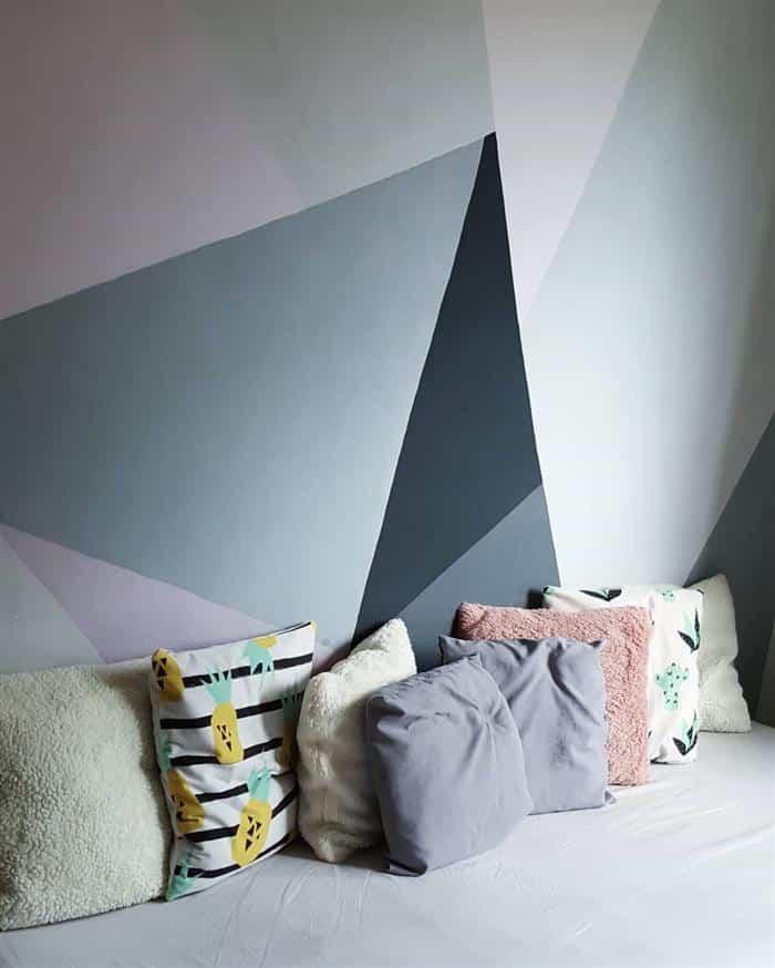 parede pintada