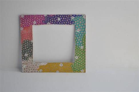 moldura de quadro de papelão