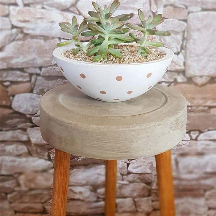 vasos de cimento grande para plantas