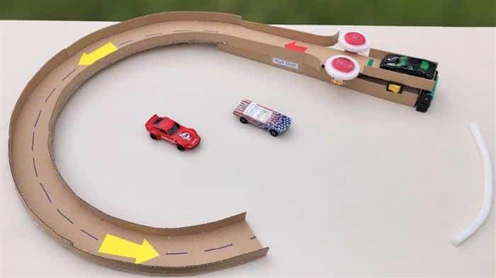 pista de carrinhos para brincar