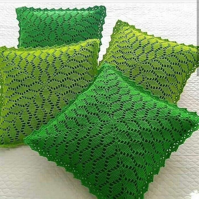 almofadas verde