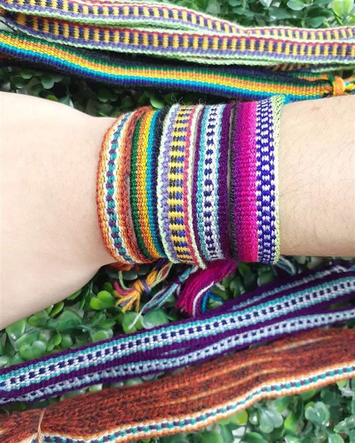 pulseira hippie