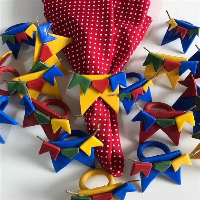 bandeirinha festa junina para guardanapos