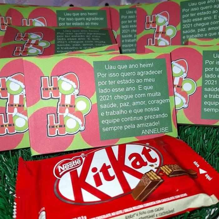 lembrancinhas de natal com chocolate