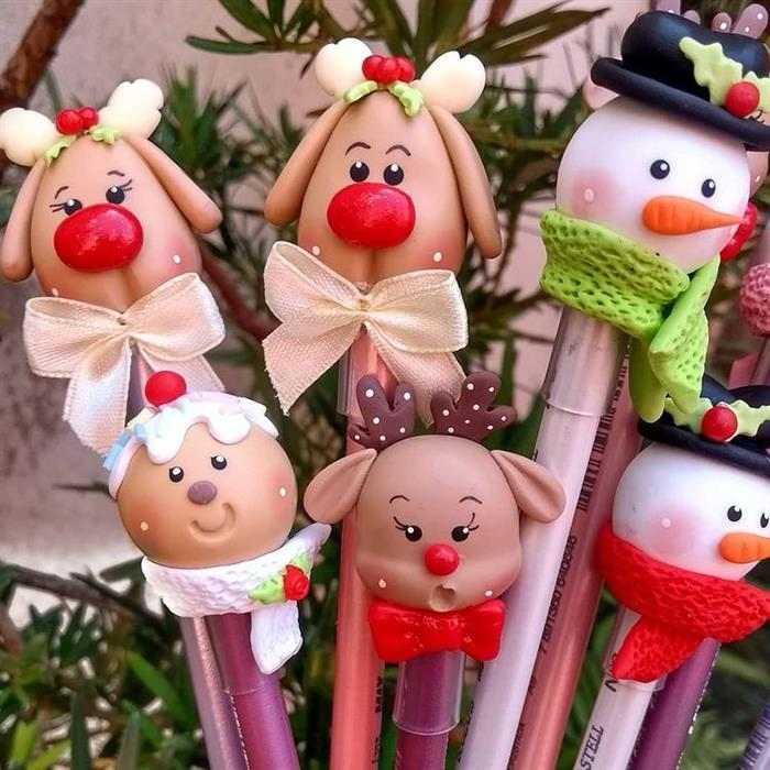 lembrancinhas de natal de biscuit