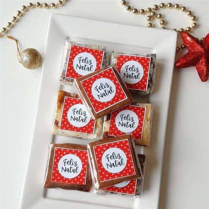 Lembrancinhas de Natal lindas e baratas para clientes simples