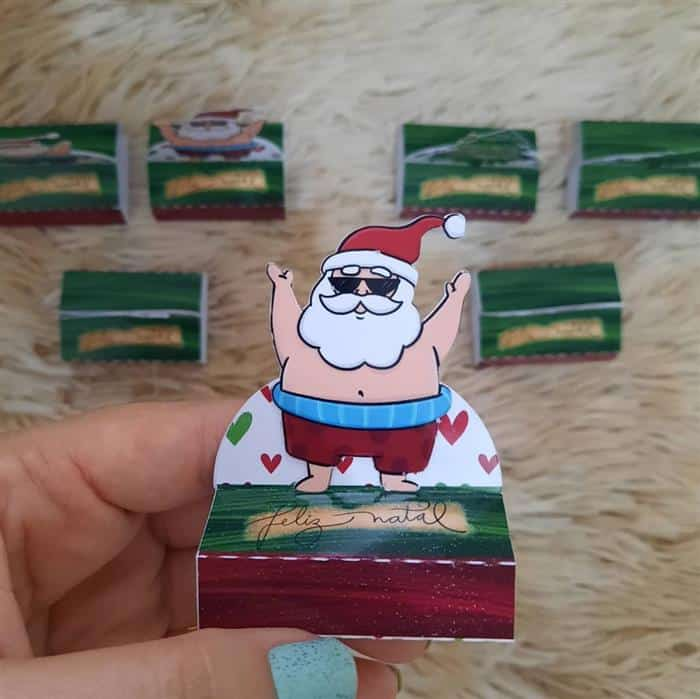 Lembrancinhas de Natal lindas e baratas para clientes bis