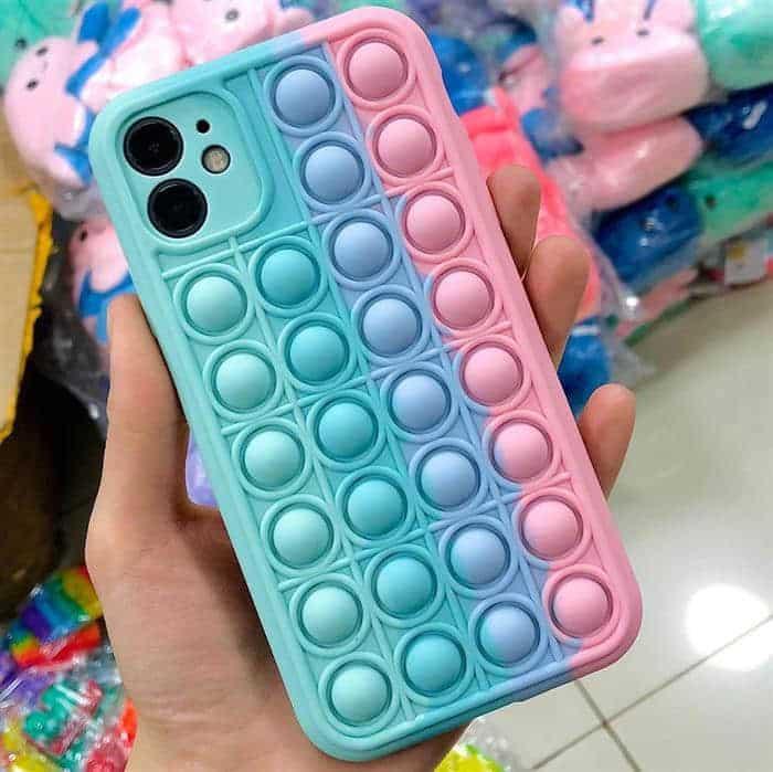 capa de celular pop it