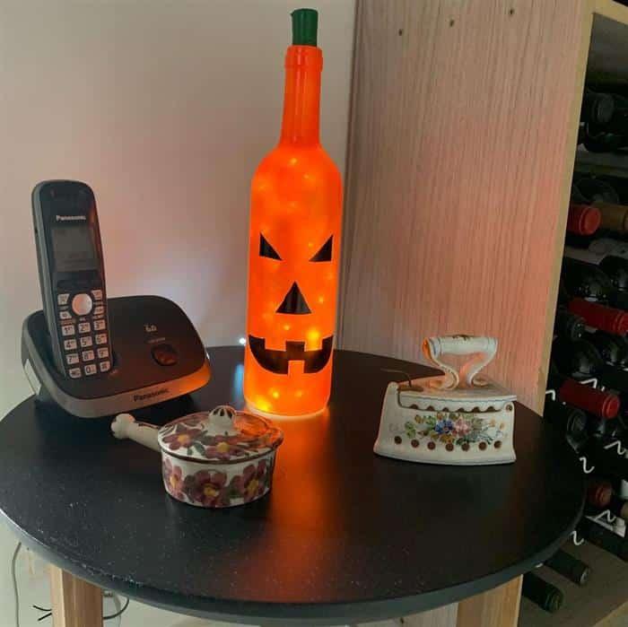 enfeites de halloween com material reciclavel