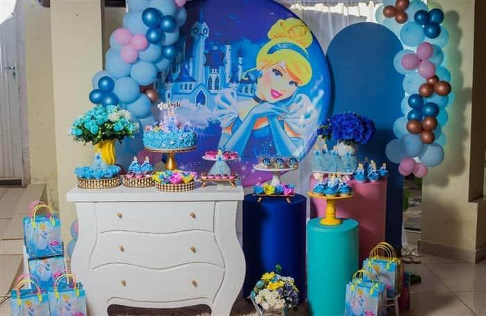 temas de festa infantil das princesas