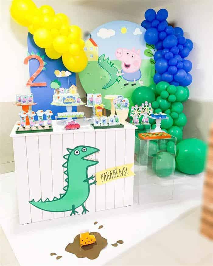 temas de festa infantil peppa pig